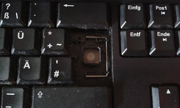 Steckplatz - (Tastatur, Enter)