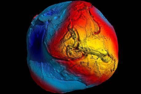 Kartoffelform der Erde - (Wissen, Geografie, Erde)