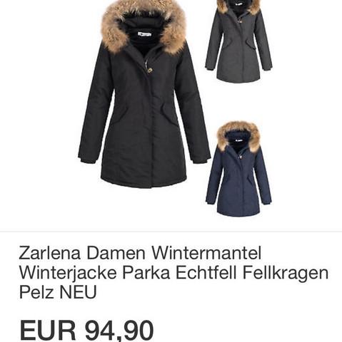 Erfahrung Mit Echtfell Parka Von Ebay Mode Jacke