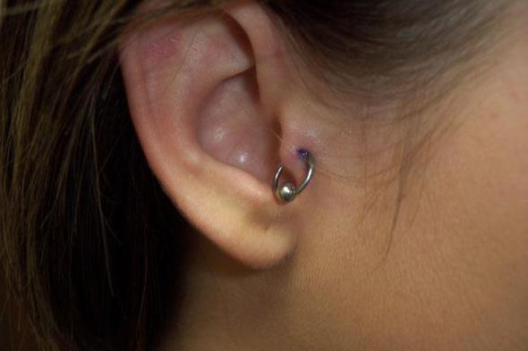 Tragus Piercing - (Schmerzen, Piercing, Tragus)