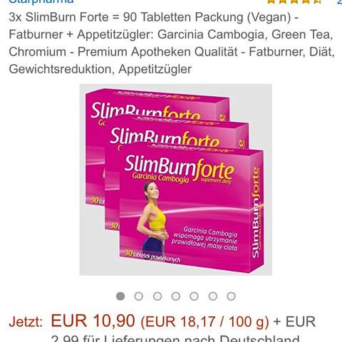 Erfahrungen Slimburn Forte Gesundheit Abnehmen Pille