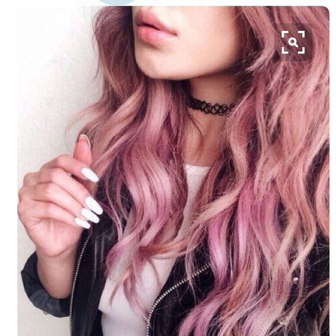 Pastell rosa - (Haare, Mode, Style)