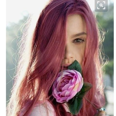 Rosa/rot Iwie undefinierbar - (Haare, Mode, Style)