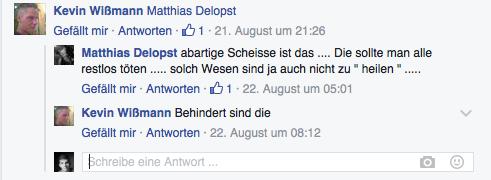 Kommentare von Mitbürgern - (Facebook, Strafrecht, afd)