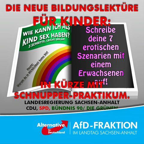 Post der AfD Sachsen - (Facebook, Strafrecht, afd)