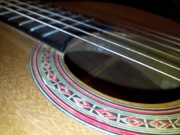 Top-Side View Soundhole - (Gitarre, Fake, Hersteller)