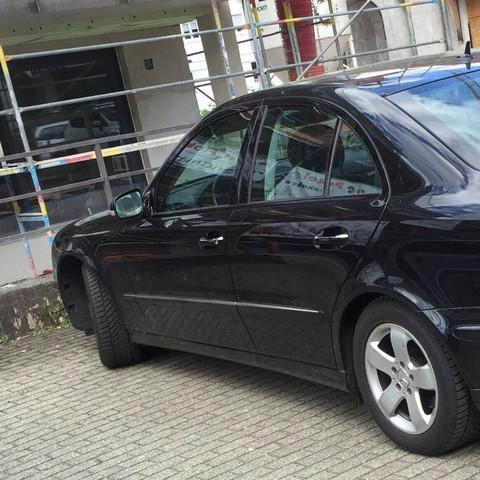 Mercedes seitlich - (Auto, Auto und Motorrad, Mercedes Benz)