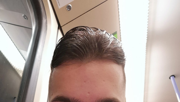 Erkennt man das ich dünnes Haar habe?