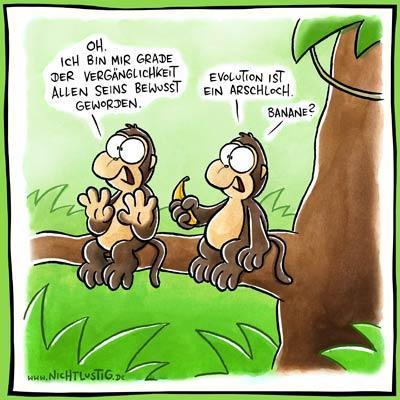 Nichtlustig.de - (deutsch, Witze, Evolution)