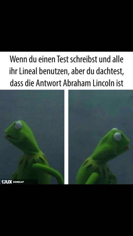 Lineal/Lincoln Witz - (Test, Witze, Lineal)