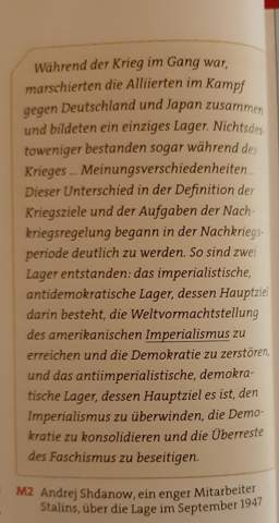 """Erläutere die Attribute """"imperialistisch und antidemokratisch"""" sowie ,antiimperialistisch und demokratisch"""" aus Sicht des Verfassers?"""