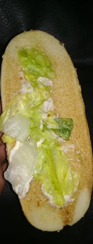 - (Salat, Burger king)