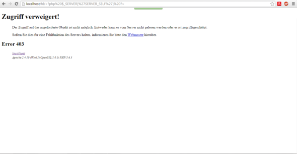 Error - (html, Browser, PHP)