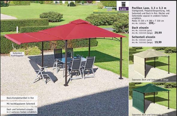 ersatzdach f r pavillion von max bahr gesucht garten pavilion. Black Bedroom Furniture Sets. Home Design Ideas