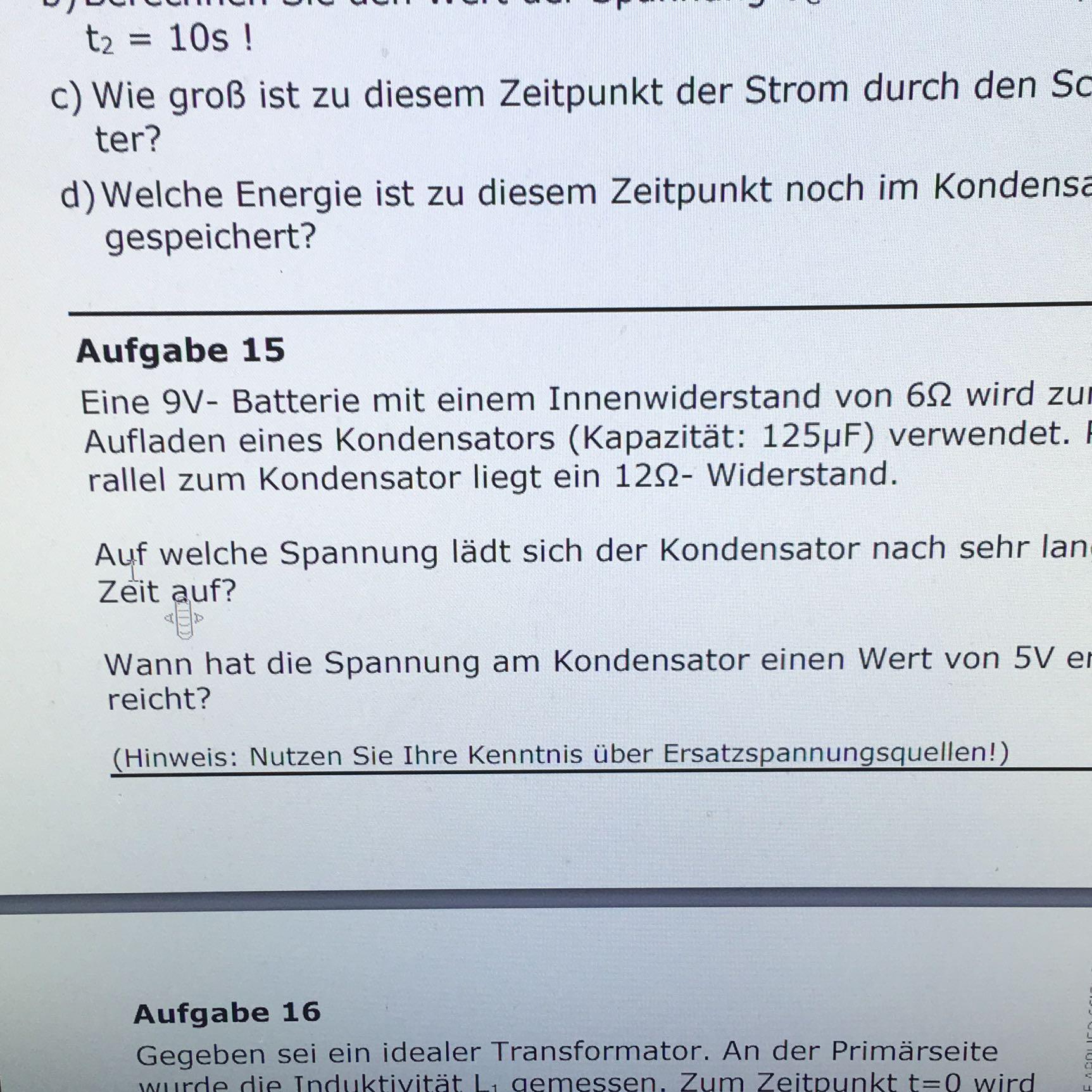 Gemütlich 9v Führte Widerstand Galerie - Elektrische Schaltplan ...