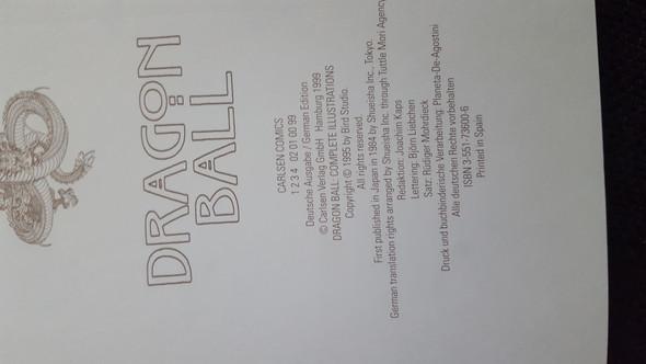 - (Buch, Dragonball, Wertschätzung)