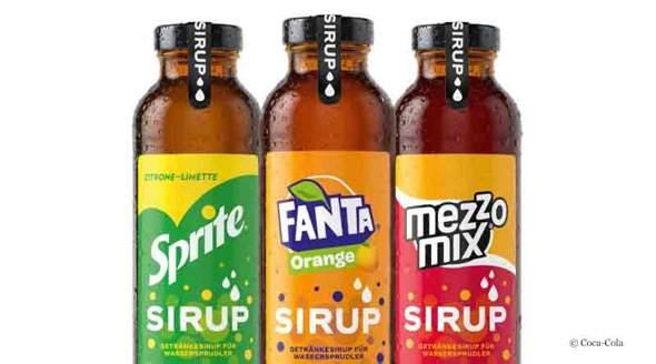 Es gibt jetzt Fanta, Sprite und MezzoMix als Sirup, schmeckt das überhaupt?