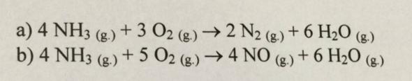 Aufgabe - (Chemie, ammoniak)