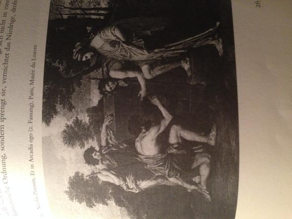 """""""Et in Arcadia"""" 1. Fassung: 1629 - (Kunst, Philosophie, Malerei)"""