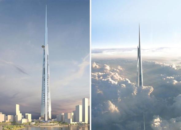 Kingdom/Jeddah Tower - (hoch, Gebäude, Weltrekord)