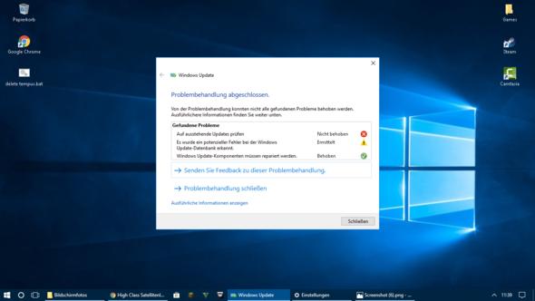 - (Software, Windows 10, Update)