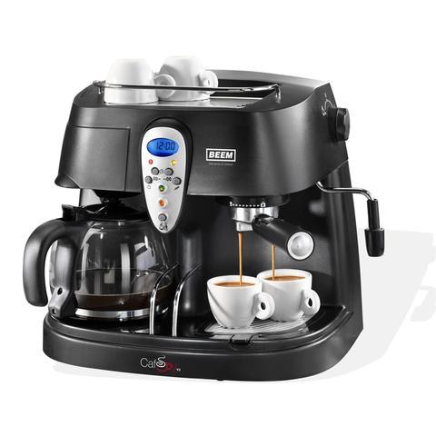 Espressomaschine schaltet sich von selber ein oder läuft einfach weiter?