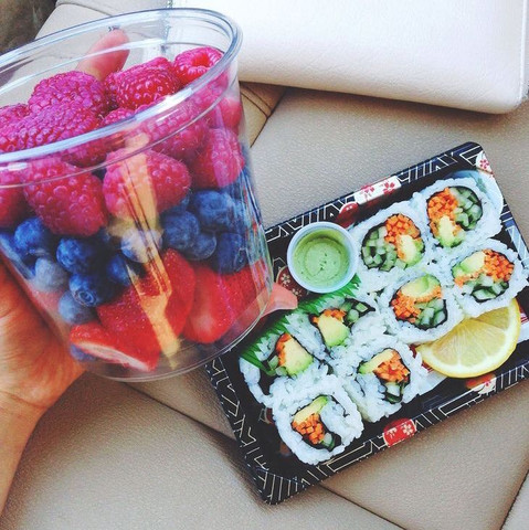 Mittagessen  - (Magersucht, Obst, Gemüse)