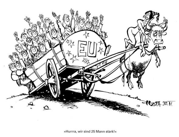 EU  - (EU, Karikatur)
