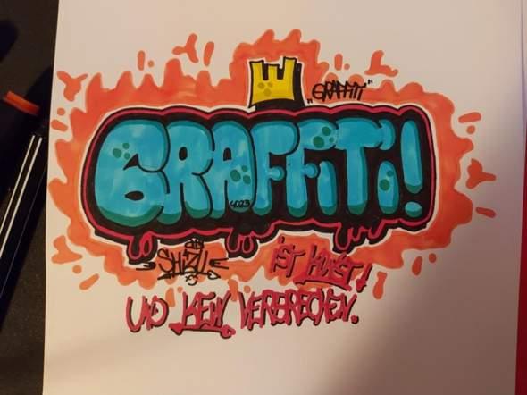 Eure Meinung zu meinem Graffiti?