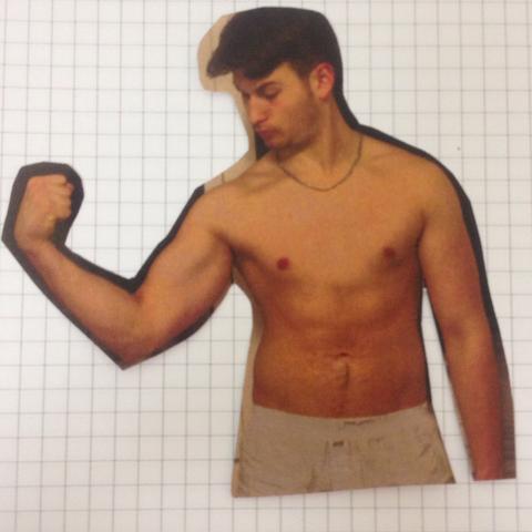 Nach ca. 1/2 Jahr training (eins wo ich angefangen habe, habe ich nicht) - (Fitness, Training, Bodybuilding)