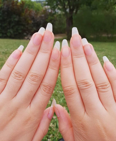 Eure Meinung Zu Naturlich Langen Nageln Madchen Nagel