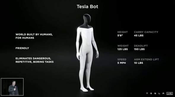 Eure Meinung zum Tesla Bot?