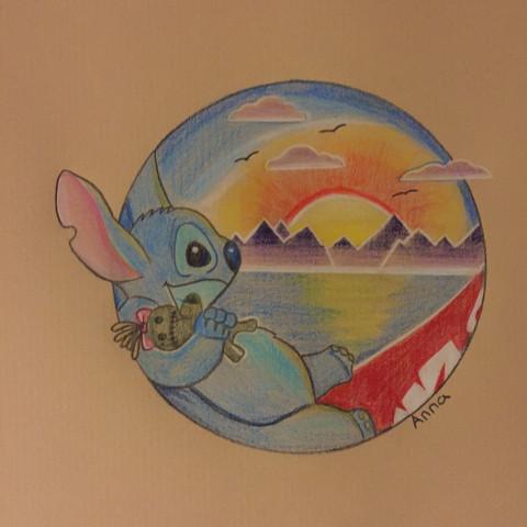 Bild 1 - (Kunst, zeichnen, Art)