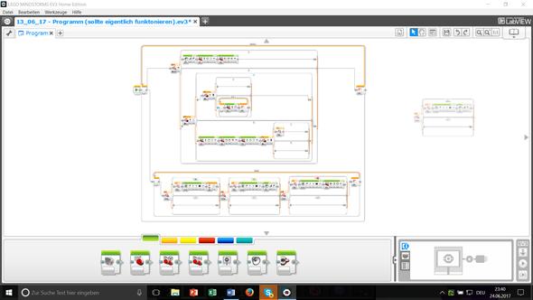 Ev3 Lego Roboter Richtige Programmierung Programm Programmieren