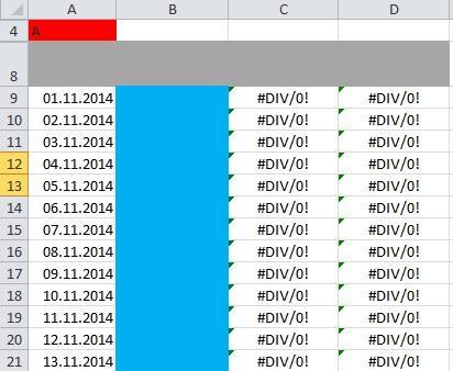 Tabelle 1 - (Excel, Vergleich, Sverweis)