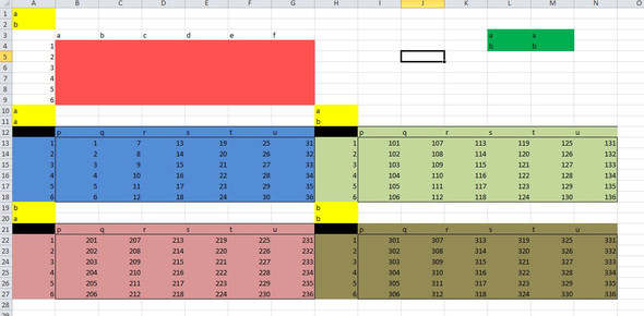 Excel Schema - (PC, Microsoft, Excel)