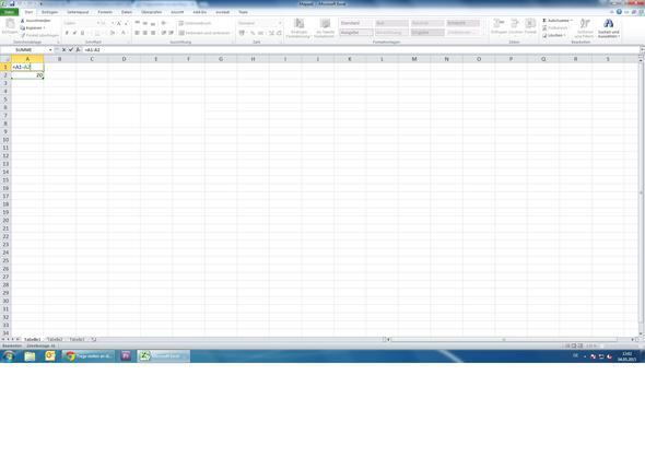 So möchte ich es - (Computer, Excel, Differenz)