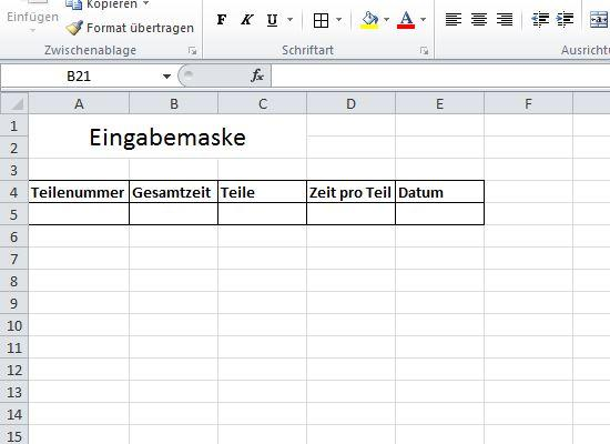Excel Eingabemaske Zum Datenbank Erstellen Office Verfassung