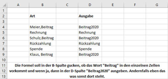 Excel Formel?