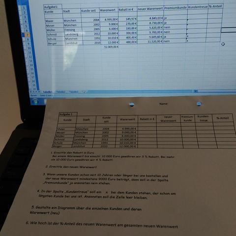 brauche Hilfe ;( - (PC, Excel, IT)