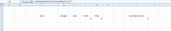 Screenshot - (Microsoft, Excel, Formel)