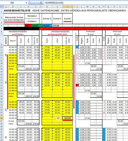 Summenbildung: Externe Bereichsvorgabe - (Mathe, Mathematik, Excel)