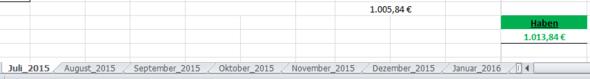 bsp - (Finanzen, Excel, Daten)