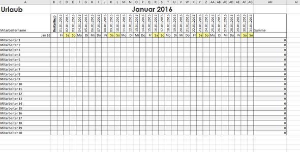Excel Tabelle Berechnen Lassen : excel tabelle felder ohne inhalt farblich markieren lassen office formel kalender ~ Themetempest.com Abrechnung