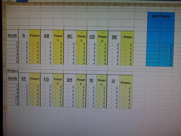 Excel Foto - (Excel, Formel)