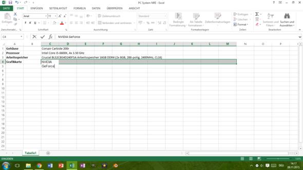 Excel Datei  - (Computer, Technik, Windows)