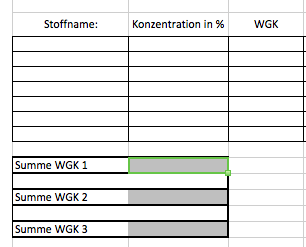 Foto der Excel-Tabelle - (Computer, Excel, Office)