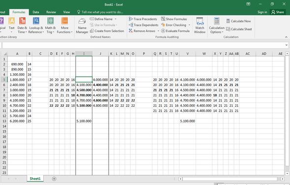 MEINE TABELLE - (Excel, Funktion)
