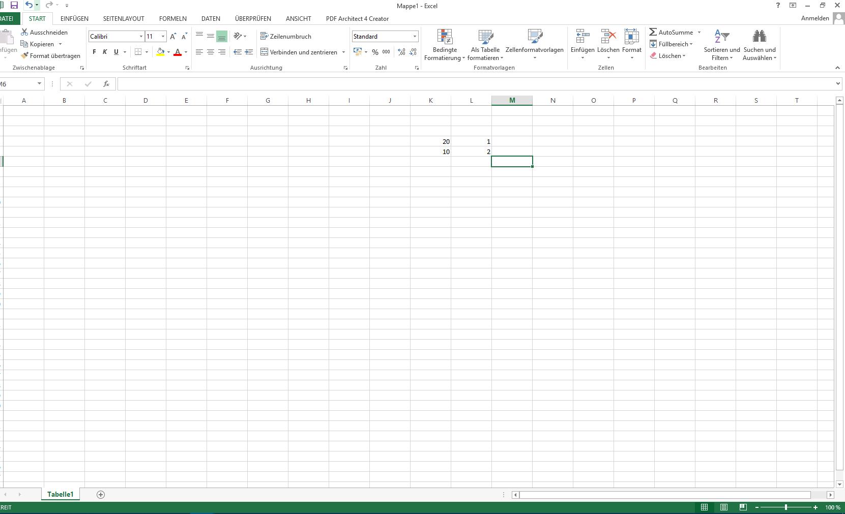 Excel Zeilen abfragen und Wert in eine Andere Zeile einfügen aber ...