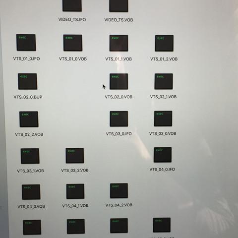 Das hier sind die besagten Dateien die ich nicht öffnen kann.  - (Computer, Apple, Mac)